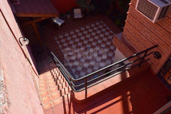 Terraza y patio